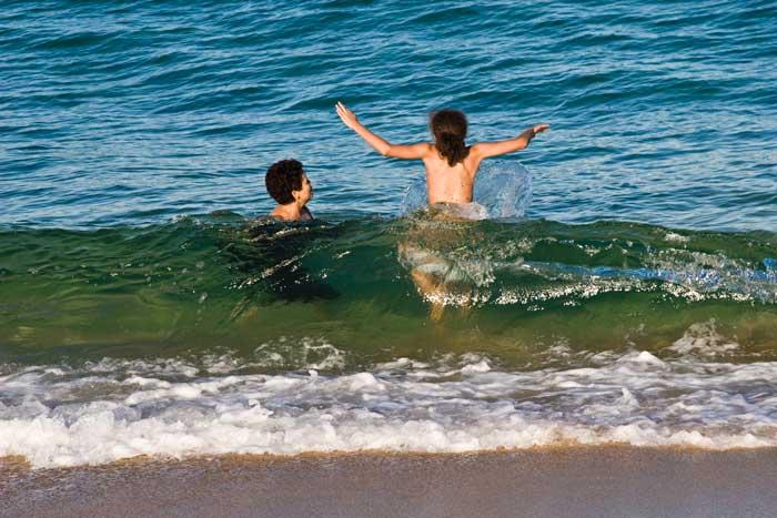 Wir und das Meer